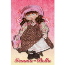 "A sweet 18"" little girl just waiting to steal your heart. Free Cloth Doll Pattern"